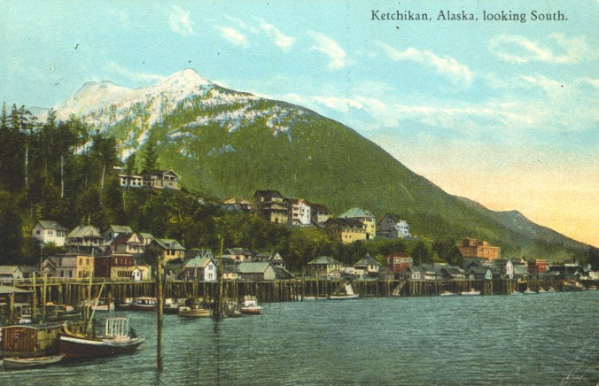 Ketchikan, Alaska, Looking South